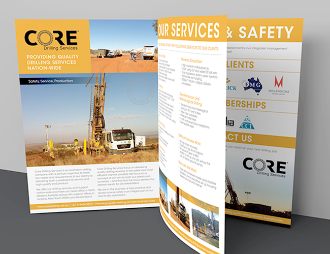 Core Drilling Services Brochure
