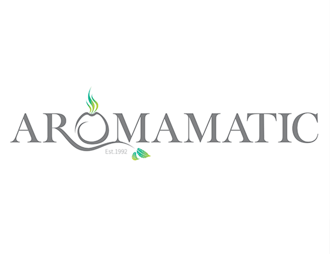 Aromamatic Logo Design
