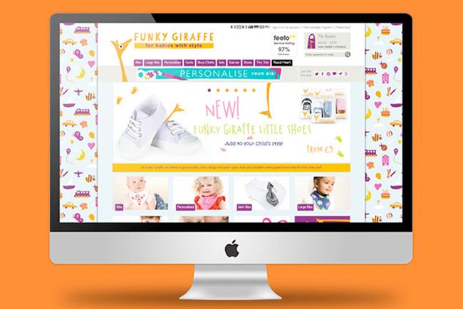 Funky Giraffe Website Copywriting
