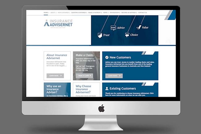 Insurance Advisernet Website Copywriting