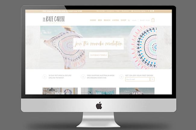 The Kate Cartel Website Copywriting