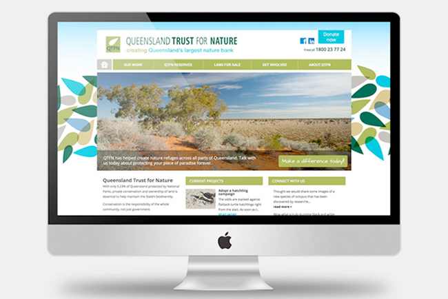 Queensland Trust for Nature Website Copywriting