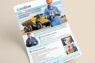 Cue Drive Flyer