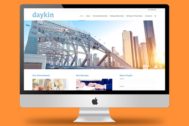 Daykin Family Law Website Copywriting
