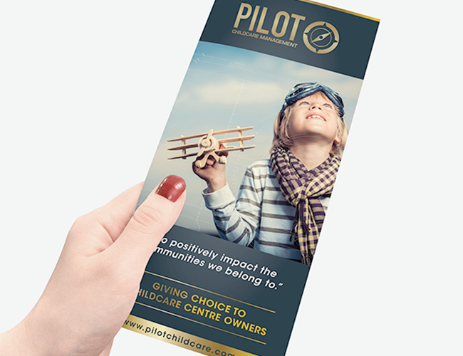 Pilot Childcare Management Flyer