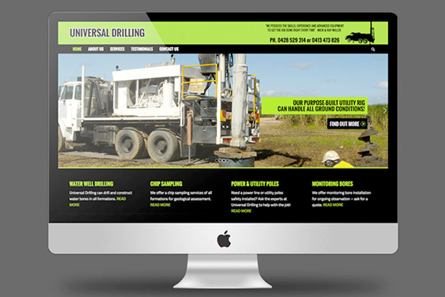 Universal Drilling Website Copywriting